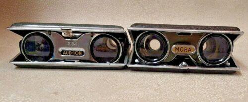 Mora & Aud-Ion Folding Sports & Opera Glasses Binoculars