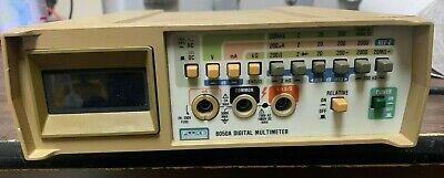 Fluke 8050a Digital Multimeter For Parts