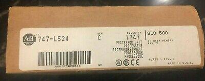 Allen-bradley 1747-l524 Slc 500 Plc Processor 4k Frn 7c