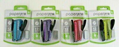 Paperpro Injoy 12 Nano Mini Stapler 12-sheet Capacity Jam Free Only One Stapler