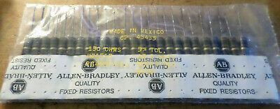 25 You Pick The Ohms 2 Watt Allen-bradley Carbon Comp Resistor Osshed