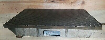 Machinest 8x12 Lapping Plate J C Busch Type1 Grade B Cast Iron Steel Surface 516