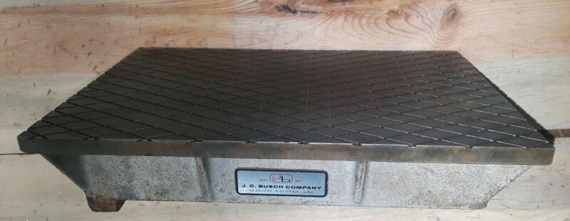 Machinest 8x12 Lapping Plate J C Busch Type1 Grade B cast iron steel surface 516
