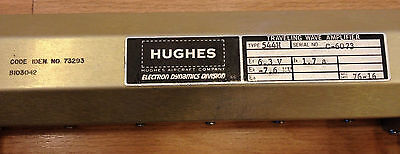 TRAVELING WAVE ELECTRON TUBE * P/N B103042-001 / 544H (Mfr. Hughes Aircraft Co.) on Rummage (2/2)