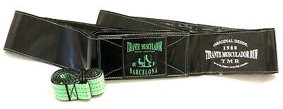 TMR PRO HOME 3 BLACK & GREEN - (TIRANTE MUSCULADOR - CINTURON...