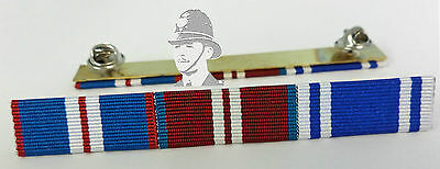 Queens Golden Jubilee, Diamond Jubilee & Police LSGC Medal Ribbon Bar
