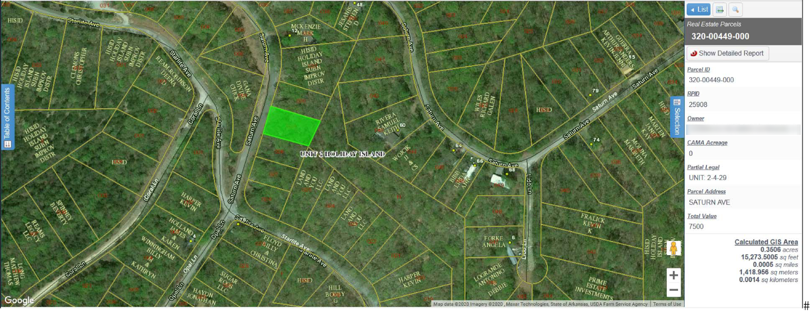 Your Own ARKANSAS Land - .35 Acres In HOLIDAY ISLAND AR  - $1.00