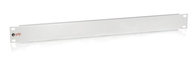 "Netzwerkschrank 19"" Blindpanel / Blindabdeckung 1HE grau / Equip® 327502"