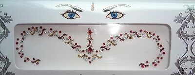 102 Jeweled WEDDING Bridal BINDIS Crystals Body Jewelry Stickers BellyDance USA