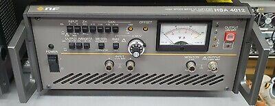 Nf Hsa4012 High Speed Bipolar Amplifier Dc-1mhz100va