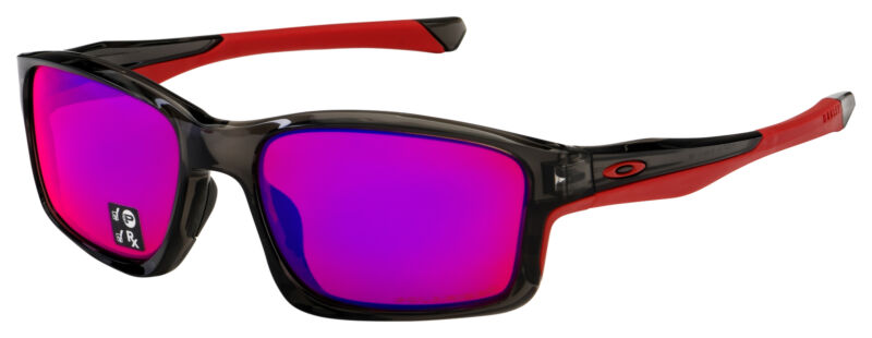 Oakley Chainlink Sunglasses OO9247-1057 Grey Smoke | OO Red Iridium Polarized
