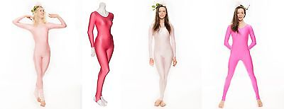Pink Barbie Fairy Shiny Dance Halloween Fancy Dress Unitard Catsuit KDC012 Katz