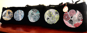 Mothers Day Gift, Hand Painted Canvas Tote Bags Runaway Bay Gold Coast North Preview