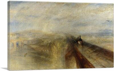 Rain, Steam and Speed The Great Western Railway Canvas Art Print J. M. W.