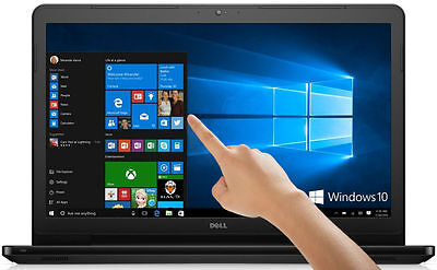 "DELL Inspiron 15.6"" TouchScreen Laptop Intel Core i3 6GB 500GB DVD+RW Windows 10"