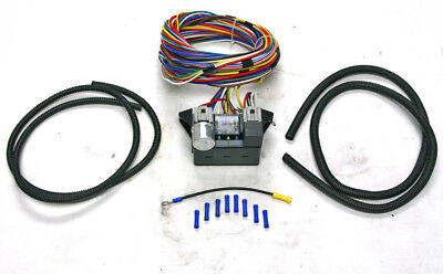 12 Circuit Universal Wire Harness Kit Hot Rod Street Rod Muscle Car XL Wires NEW