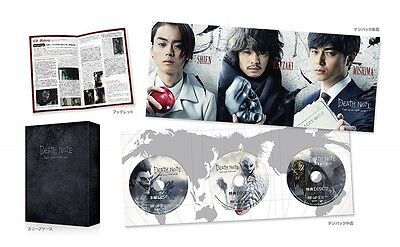 New Death Note Light Up the New World complete set 3 Blu-ray Booklet Japan