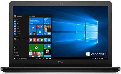 "DELL 17.3"" LED Intel Core i3 8GB 1TB DVD+RW WebCam WiFi WIN10 Bluetooth Laptop"