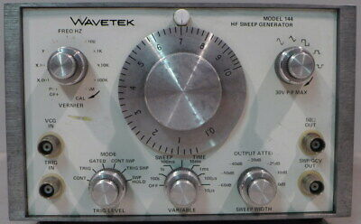 Wavetek 144 Hf Sweep Generator Tested And Working