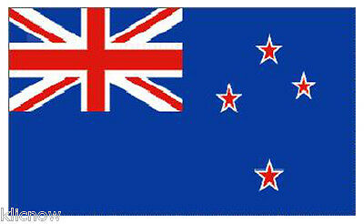 NEW ZEALAND FLAG 5FT X 3FT (Buy with Confidence from Klicnow)