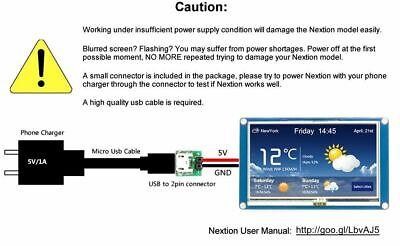 Nextion Screen Hmi 3.5 Lcd Display Nx4832t035 For Arduino Raspberry Pi Esp8266
