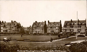 Eastbourne. Redoubt Bowling Green, Royal Parade.