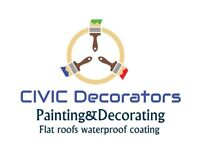 Painting and Decorating, Varnish, Wood stain Doors,Decking and Fence. Flat roofs Waterproof coating