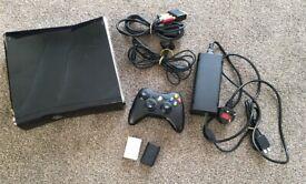 XBOX 360 SLIM CONSOLE 250GB PLUS GAMES BUNDLE X5