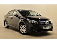 TOYOTA AVENSIS 2.0 D-4D T2 4d 124 BHP + AIR CON + AUX CONNECTION (black) 2012