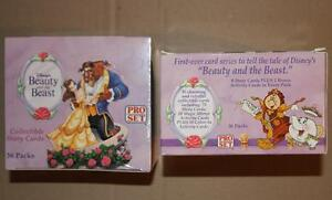 Pro Set 1992 Beauty and the Beast pack