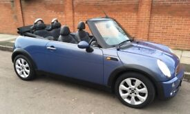 2006 AUTOMATIC MINI COOPE CABRIOLET LEATHER TRIM FULL MAIN DEALER SERVICE HISTORY AUTO CONVERTIBLE
