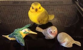 Home Decor/ Job Lot - Assorted Small Bird Ornaments - £5 for All