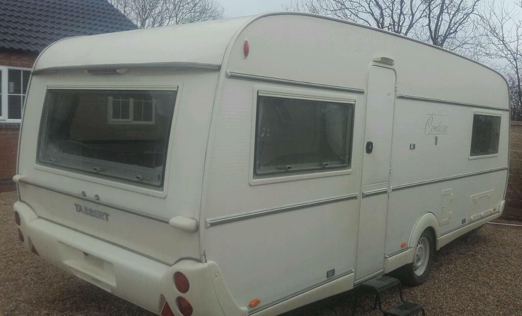 21ft long 5 berth 2004 tabbert comtesse fixed end bed not hobby or fendt in grantham - Hoofd bed comtesse ...