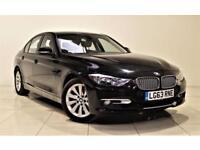 BMW 3 SERIES 3.0 330D MODERN 4d AUTO 255 BHP + 1 OWNER + SERVIC (black) 2013