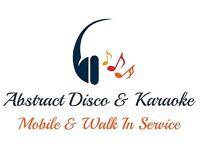 Abstract Mobile Disco & Karaoke & Walk In DJ Service, Weddings,Race nights , Quiz, Bingo nights