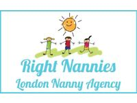 Looking for a nanny? Right Nannies is here for you!!!!