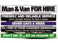 Free quote man with van sofa bed