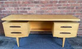 Vintage look floating desk top /dressing table