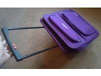 Folding Cabin-Size Travel Case in Purple