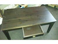 Ikea solid pine TV unit