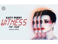 Katy perry seated tickets Birmingham