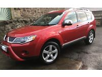 Mitsubishi Outlander Warrior: A great 7 seater Outlander, with full black leather interior.