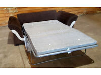 Dfs Sofa - Bed Brown. Can deliver