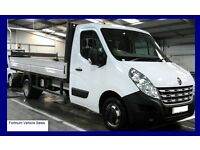Renault Master 2012 Alloy dropside LWB twin rear wheel 45000miles 3 months Warranty&Recovery