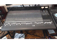 Mackie 32 channel 8 bus mixing console + Meter Bridge, Custom Stand and Power Supply