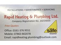 Rapid Heating and Plumbing ltd. Manchester