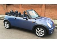 2006 AUTOMATIC MINI COOPER CABRIOLET LEATHER TRIM MINI DEALER SERVICE HISTORY AUTO CONVERTIBLE MINI