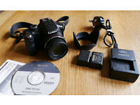 Panasonic Lumix DMC FZ150 Camera with 24x Leica zoom lens, 12.1m pixels and Full HD Video
