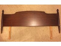 Stag Minstrel Mahogany Headboard for 4ft 6in bed