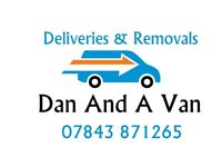 DAN AND A VAN REMOVAL SERVICE HOME MOVE HOUSE & DELIVERIES HOUSE CLEARANCE RUBBISH